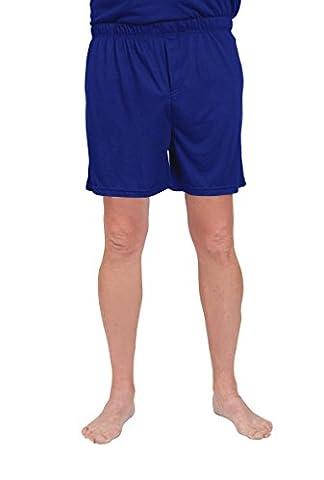 Cool-jams Wicking Sleepwear for Men – Moisture Wicking Boxer Pajama Shorts – 2XL, Navy