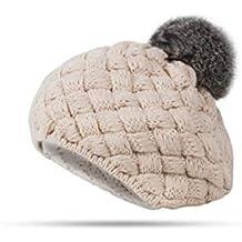 a141ea785 FENGJIAREN Gorro Lindo Bebé Sombrero De Invierno Tejiendo Crochet Bebé  Sombrero Niñas Hat Niños Gorro De