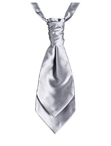 Paisley de Londres et foulards cravates, en bandes pour homme Argenté
