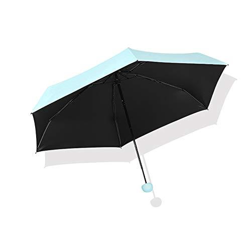 LYJZH Regenschirm Taschenschirm Kompakt, stabil - Schirm für Reisen & Business   Kinder Damen Herren Kapsel 50-Fach Regenschirm Ultraleicht Schirmfarbe9 90cm