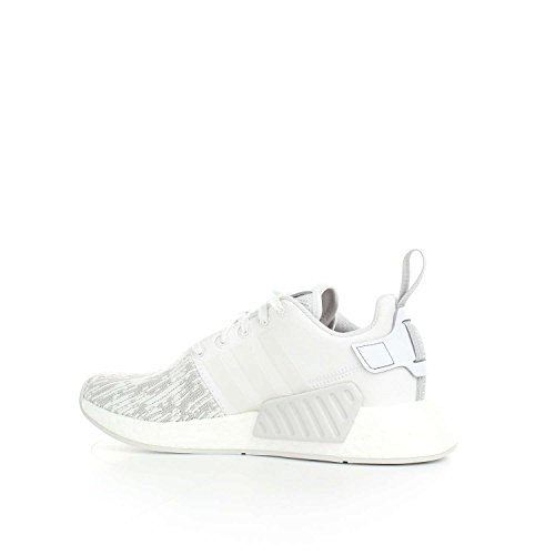 adidas Nmd_r2 W, Sneakers Basses Femme Gris (Ftwr White/ftwr White/grey Two F17)