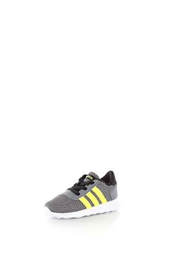Adidas AW4063 Scarpe Sportive Bambino Tessuto Grigio/Giallo Grigio/Giallo 26