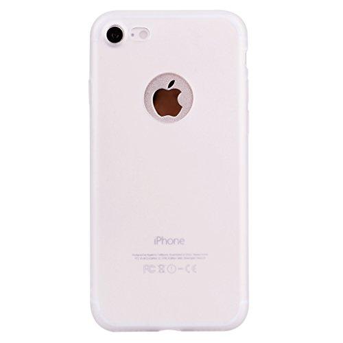 """Hülle für Apple iPhone 7 / 8 , IJIA Rein Grün TPU Weich Handytasche Silikon Stoßkasten Handyhülle Cover Schutzhülle Schale Case Tasche für Apple iPhone 7 / 8 (4.7"""") White"""