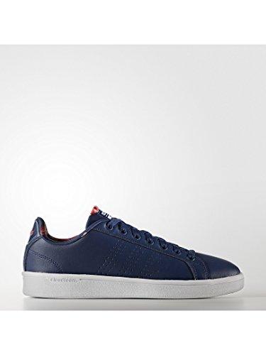 adidas Cloudfoam Advantage, Sneakers Basses Femme Bleu (Mysblu/mysblu/shored)