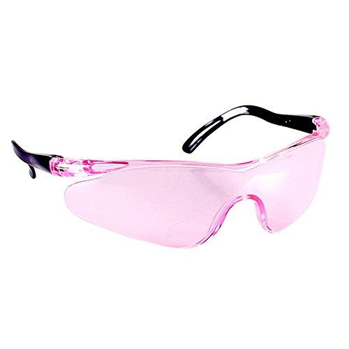AOTUOTECH 1 Stück Kinder-Sicherheitsbrille, widerstandsfähig, bruchsicher, für Outdoor-Spiele, Rose, 14.5×4.5cm -