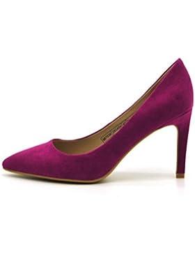 QPYC Scarpe da donna a punta sottile bocca superficiale tallone confortevole donna single scarpe donna tacchi...