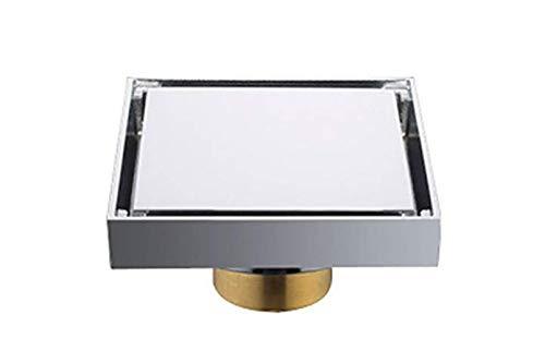 Kitrack Bodenablauf Quadrat 100 * 100mm Bronze für Badezimmer Wet Room DN50
