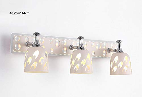 ZHAS Spiegelleuchte LDE Spiegelleuchte Frontleuchte Bad Wandspiegel Schrankbeleuchtung Bad Moderne Leuchte (Farbe: C3 23W 4000K) -