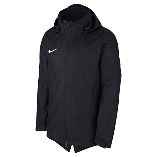 Nike Kinder Academy18 Rain Jacket Regenjacke, schwarz (black/Black/White), L