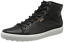 Ecco Damen SOFT7W High-Top, Schwarz (BLACK 1001), 37 EU
