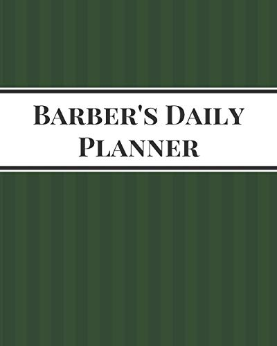 Barber's Daily Planner: 90 Days 8