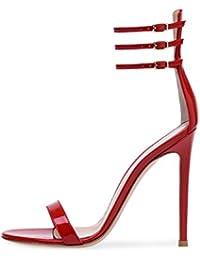 Para Sandalias Zapatos Dedo Amazon 44 Mujer De es 6qHw6pUf