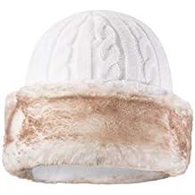 Mountain Warehouse Gorro con Piel sintética para Mujer  cálido f13df905178