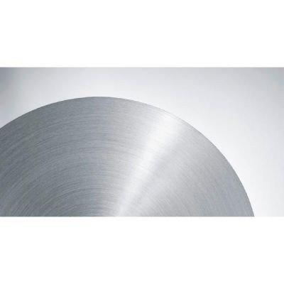Graef lama liscia per affettatrice, acciaio inossidabile, argento