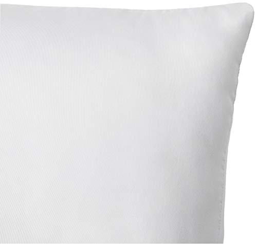 Amazon Brand - Solimo 2-Piece Bed Pillow Set - 40 x 60 cm, White Image 3