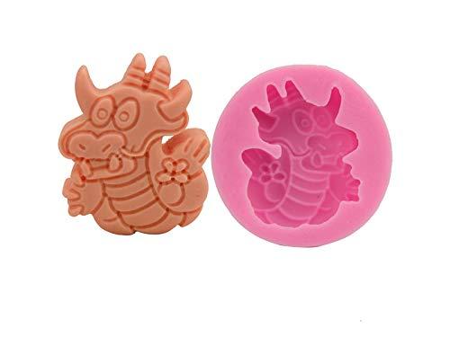 Aboyzj Stampo per Dolci Stampo per fonderia Dragon Baking Molds Stampi per...