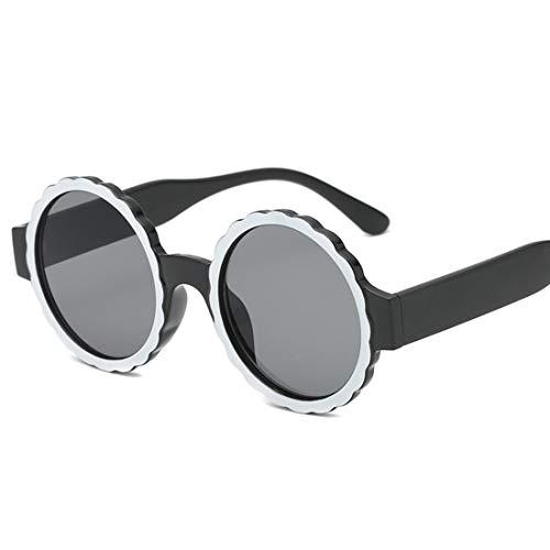 Shiduoli Candy Farbe Sonnenbrille für Frauen kleine Spiegel linse Fashion Party Sonnenbrille transparent Candy Farbe Brillen (Color : C)