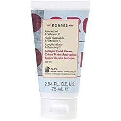 ALMOND OIL & VITAMIN C Antispot hand cream/Antispot, non-oily hand cream SPF15 75ml