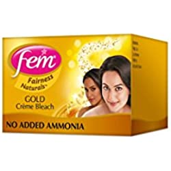 Fem Fairness Naturals Gold Skin Bleach - 64g