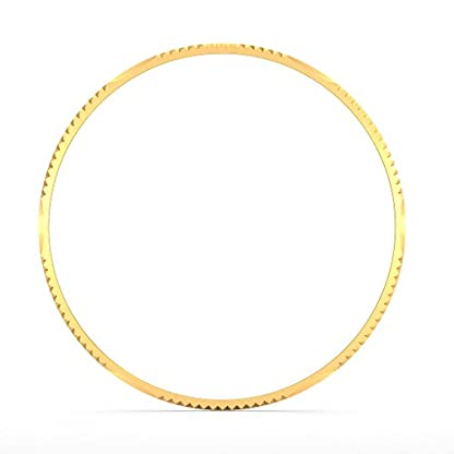 BlueStone 18k (750) Yellow Gold Dafne Bangle