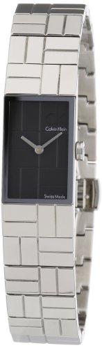 Calvin Klein COBBLESTONE K0J23102 - Reloj de mujer de cuarzo, correa de acero inoxidable color plata
