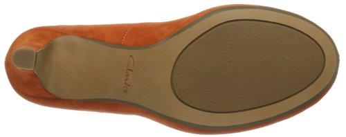 Clarks Chorus Voice 2035 Damen Pumps Orange (Orange) w12s7G