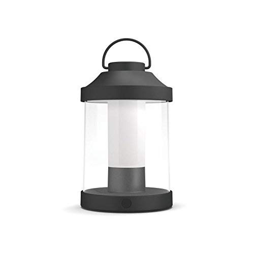 Philips Lighting MyGarden Abelia Farol LED portátil, 3 W, Negro