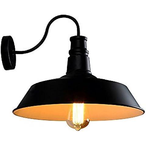 Vintage Steampunk Tubo applique lampada da parete industriale Design Vintage parete lampadario ciondolo Light Fashion semplice per per bar caffè
