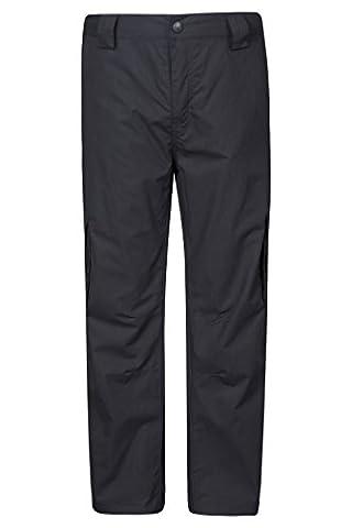 Mountain Warehouse Pantalon Enfant Trek Hiver Chaud Noir 7-8