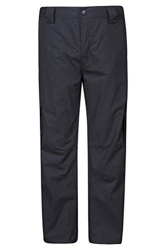 Mountain Warehouse Winter Trek Hose für Jugendliche Schwarz 140 (9-10 Jahre)