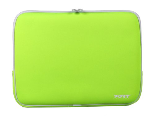 Miami Notebook Skin (PORT Designs Miami Skin Green 15.4'' Notebook Tasche Neopren grün)