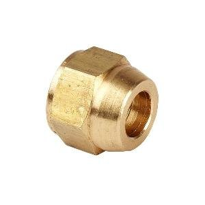 2 x Brass Pipe fittings Female 1/2 x 20UNF with lead 1/4