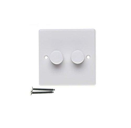 Varilight JQP252W V-Pro - Interruptor de intensidad de luz LED (2 canales,...