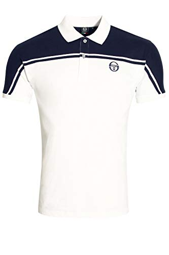 Sergio Tacchini New Young Line Archivio Tennis Polo - SS19 - Large Herren Young Line