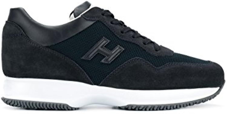 Hogan Hombre HXM00N0U040I9M0071 Azul Tela Zapatillas  -
