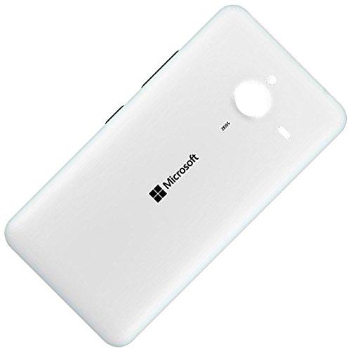 Microsoft Lumia 640 XL LTE Dual Sim Original Akkudeckel Weiss Battery Back Cover White Akkufachdeckel Batterie Abdeckung