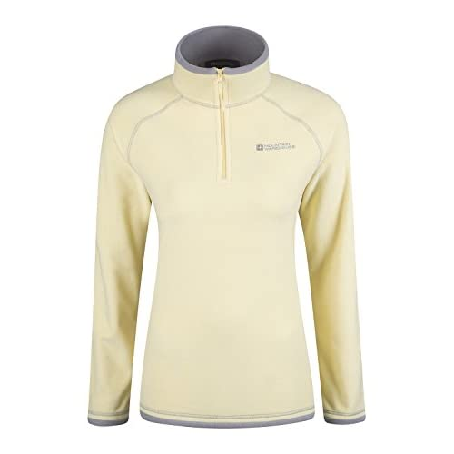 31m9OPgdEaL. SS500  - Mountain Warehouse Montana Womens Microfleece - Breathable Ladies Sweater, Quick Drying Pullover, Warm Fleece Jacket, Half Zip - for Winter Travelling, Outdoors