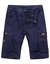 iPretty neue Sommerhosen Herren kurz Hose Casual Shorts Strandhose Outdoor-Sporthose medium Taille