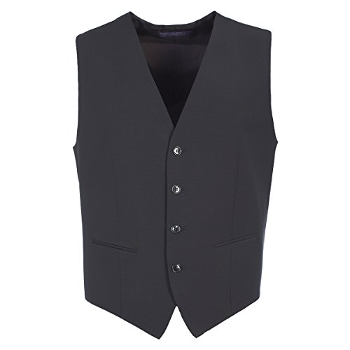 Michaelax-Fashion-Trade -  Gilet  - Basic - Uomo Schwarz (4000)