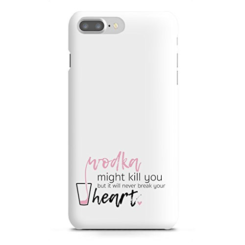 artboxONE Apple iPhone 7 Plus Premium-Case Handyhülle Wodka Might Kill You von AB1 Edition