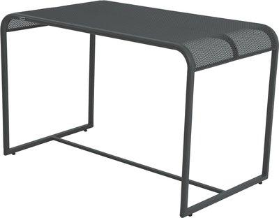 VARILANDO MWH Balkontisch in 4 Farben Gartentisch Terrassen-Tisch Ess-Tisch Schreibtisch (Grau)