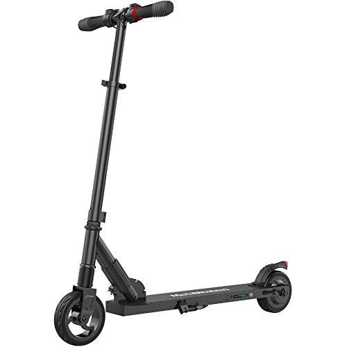 HELLOO HOME Elektroroller Scooter Klappbar E-Scooter Electric Scooter 23km/h 8-12km Reichweite Belastbarkeit Beträgt Ca. 68 Kg (Schwarz) - Elektro-roller-rampen