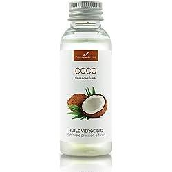 COCO - 50mL - Huile Végétale Certifiée BIO, garantie vierge et de première pression à froid - Aromathérapie - La Compagnie des Sens