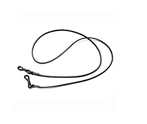 tfrdertuuigf Sports Riemen Brillenhalterung Decor Sonnenbrille Schlüsselanhängerform Wachs Schnur-Schwarz