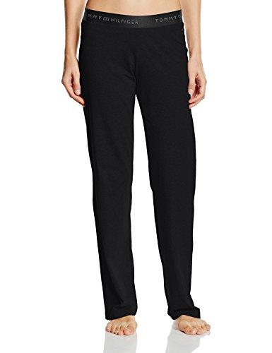 Tommy Hilfiger Cotton Pant Iconic - Bas De Pyjama - Femme Noir - Noir (990)