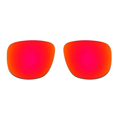 HKUCO Verstärken Ersatz-Brillengläser für Oakley Holbrook R OO9377 Sonnenbrille Rot Polarisiert