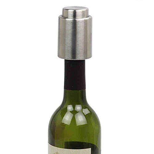 Edelstahl Vakuum versiegelt Rotwein Lagerung Flaschenverschluss Stecker Flaschendeckel Wein Stopfen