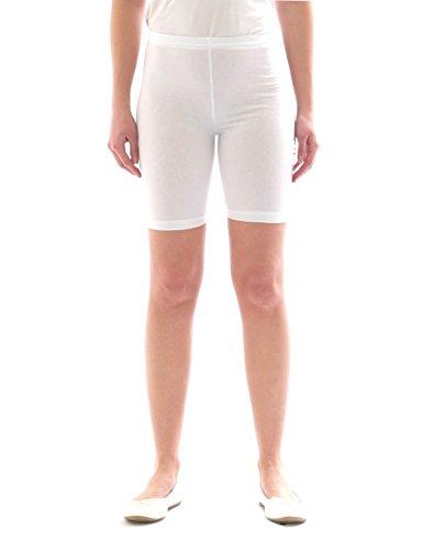 Pantaloncini da ciclista corti leggings cotone per ragazzi e ragazze