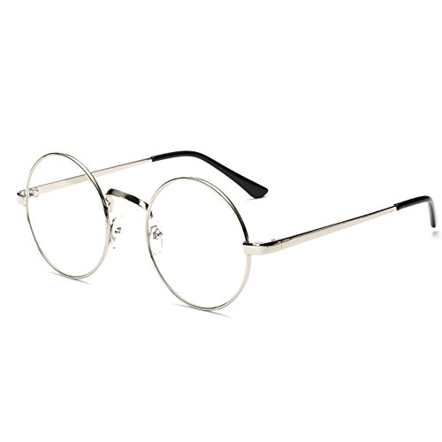 unisex-retro-glasses-round-metal-frame-clear-lens-sunglasses-vintage-geek-eyeglasses-silver