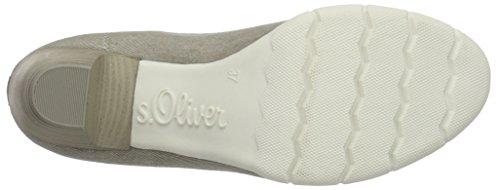 s.Oliver 22406, Scarpe con Tacco Donna Grigio (LT GREY 210)